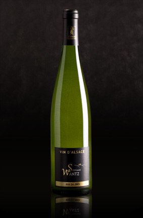Stephane Wantz Alsace vin blanc Riesling